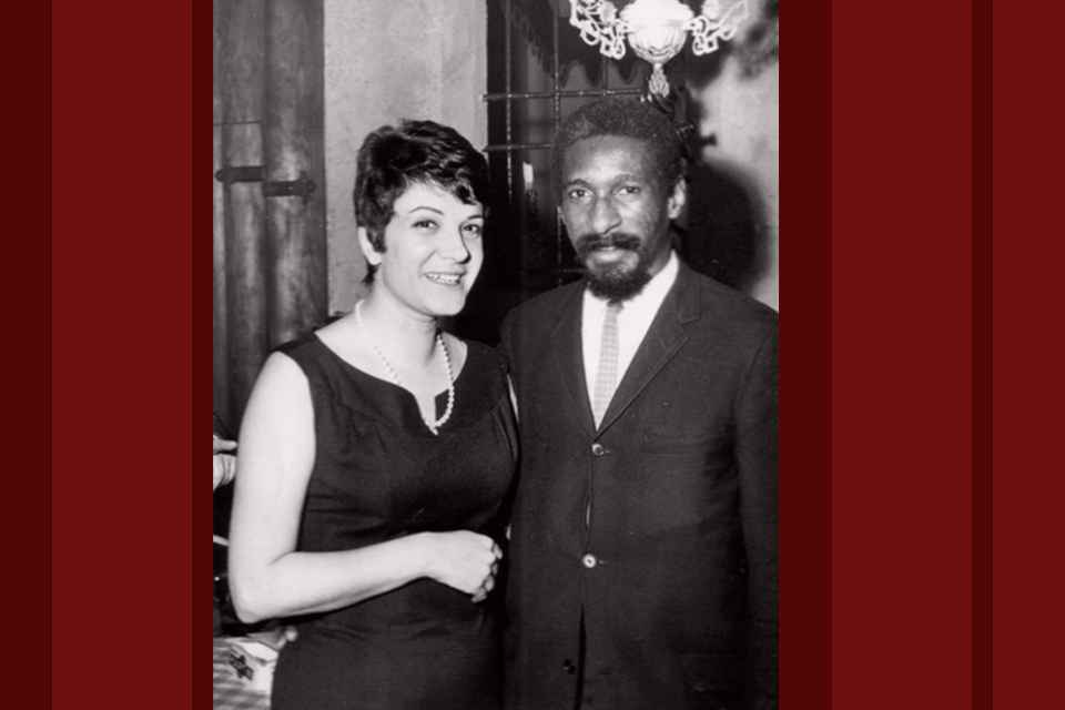 Lilian Terry and Mal Waldron, Italy, late 1960s